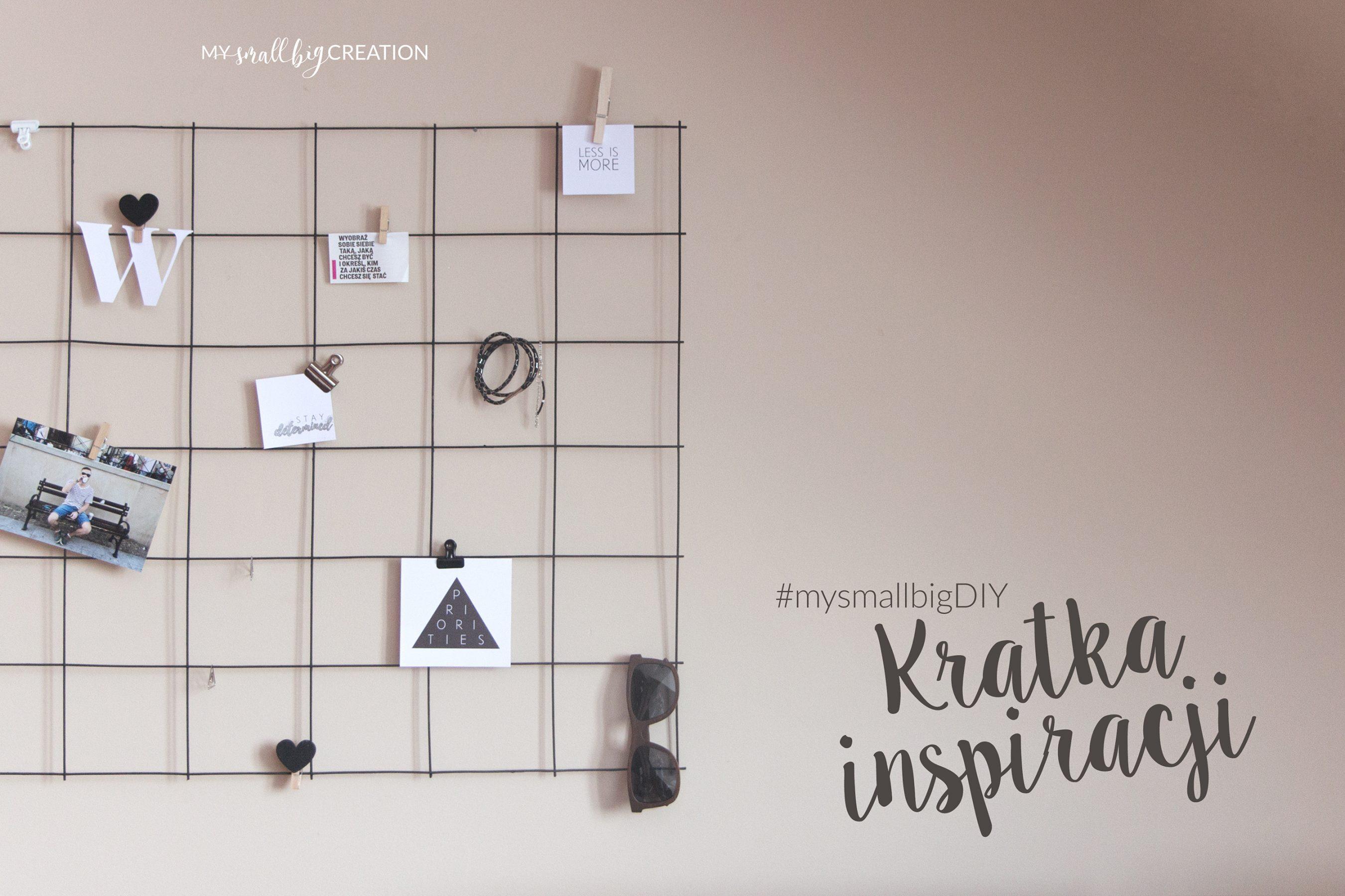 Kratka inspiracji DIY – praktyczna dekoracja