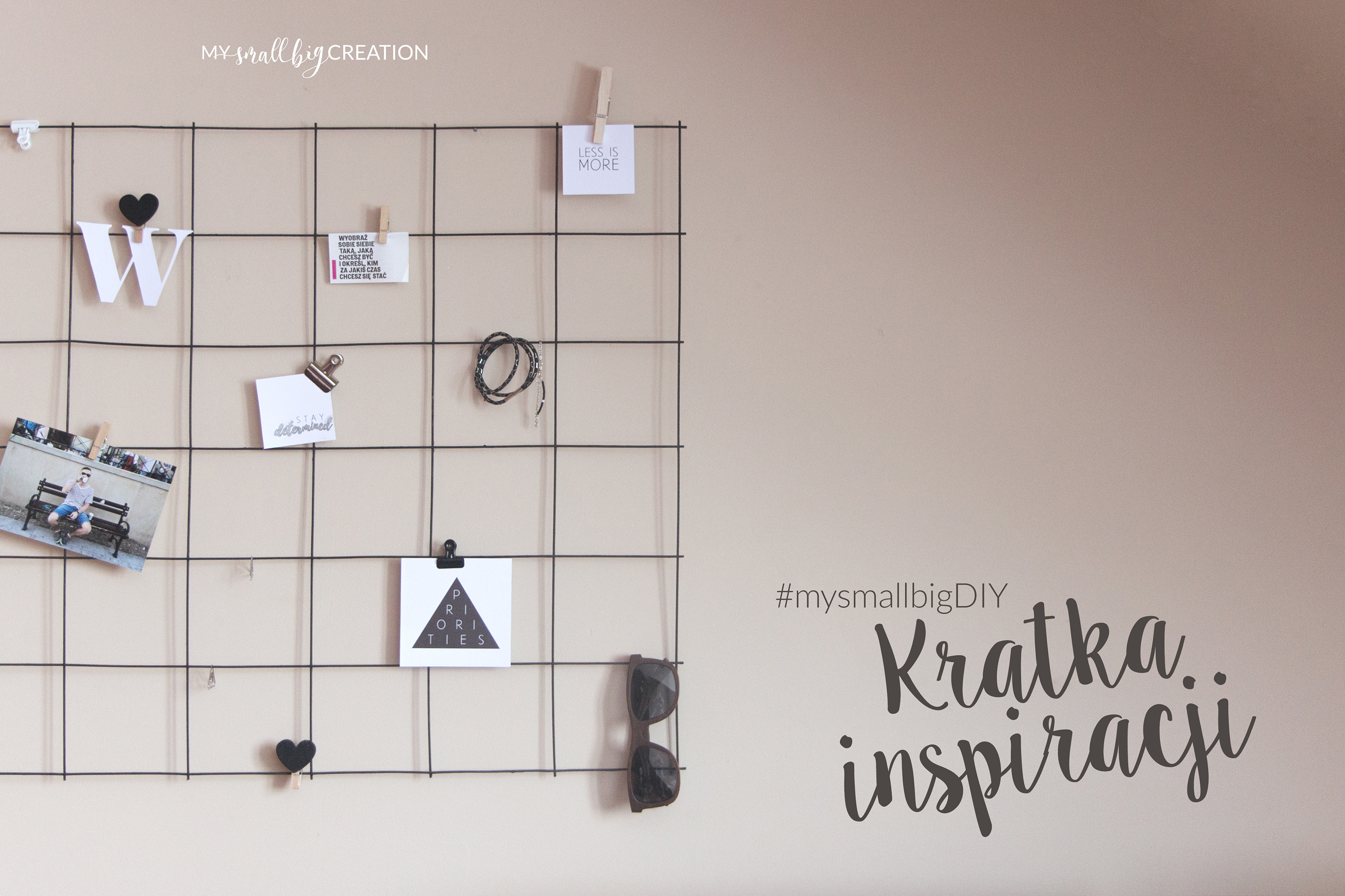 #mysmallbigDIY - Kratka inspiracji | My small big creation