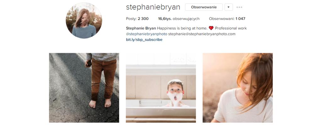 Sobotnia polecajka .2 - Stephanie Bryan, Instagram | My small big creation