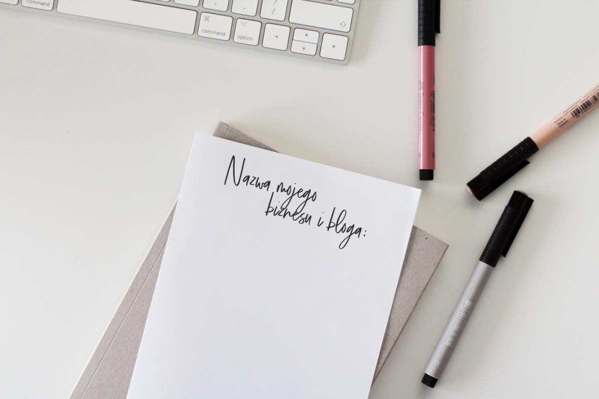 Nazwa dla biznesu i bloga .1 – jak ją wymyślić? 9 rad dla Ciebie