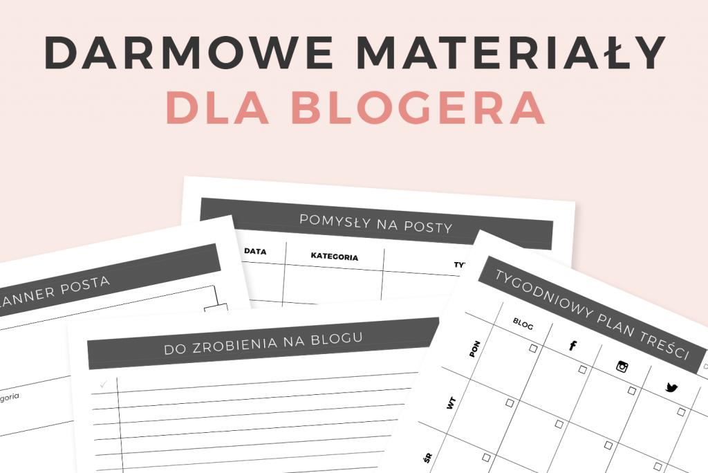 Na czym polega praca blogera? Darmowy materiały dla blogera! | Moyemu - blog kreatywny