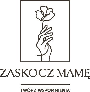 Zaskocz Mamę logo - identyfikacja wizualna, logo dla marki | Moyemu - studio kreatywne