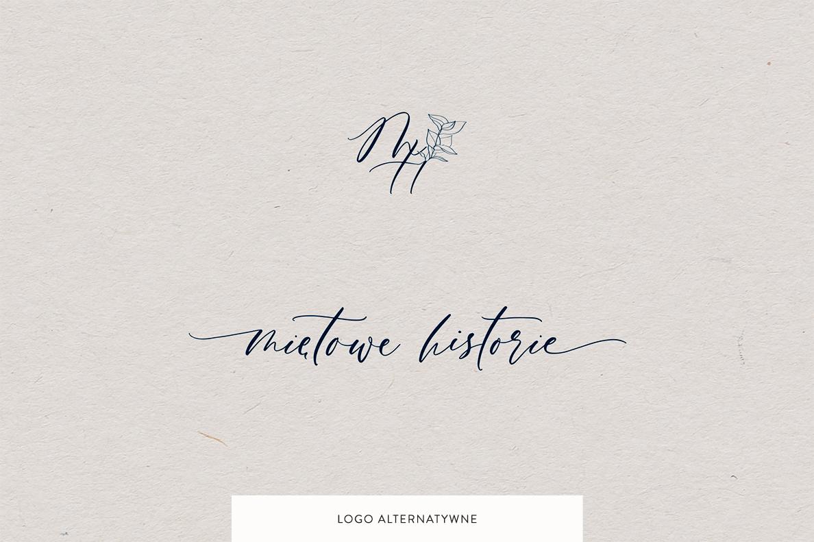 Logo dla fotografa | Logo Miętowe historie | Identyfikacja wizualna marki fotograficznej | Fotografia kobieca, lifestyle, biznesowa, rodzinna | Portfolio Moyemu