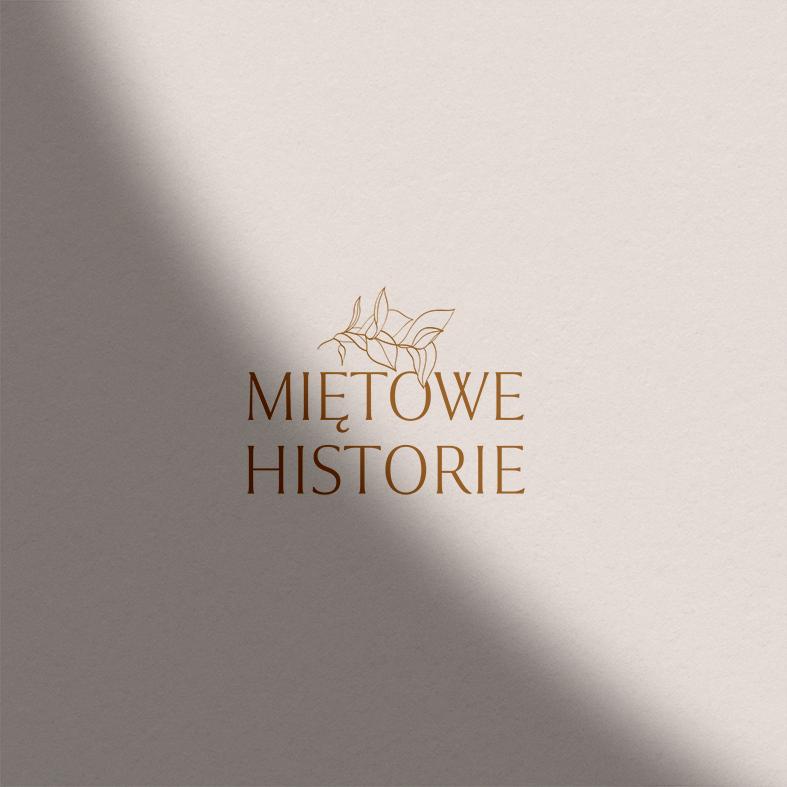 Logo Miętowe historie | Identyfikacja wizualna marki fotograficznej | Fotografia kobieca, lifestyle, biznesowa, rodzinna | Portfolio Moyemu