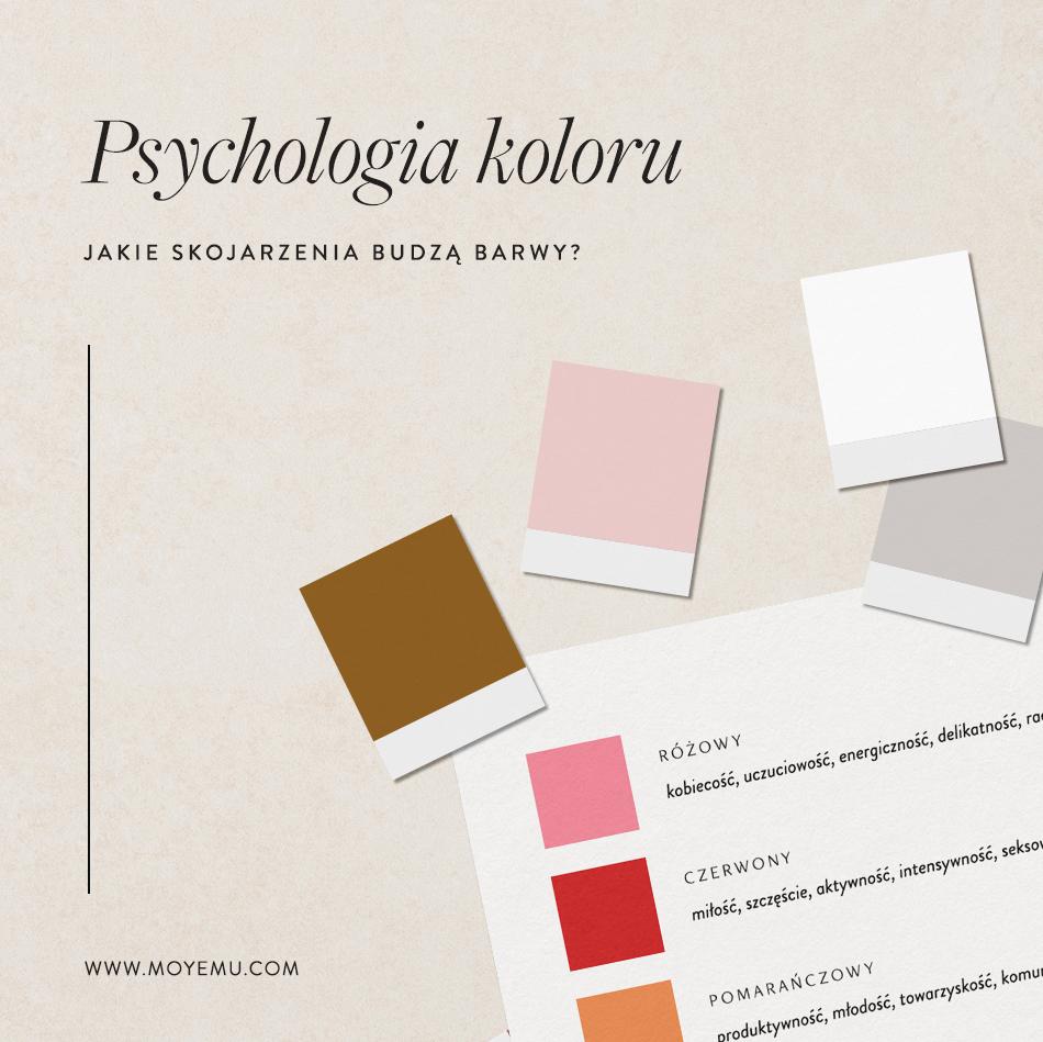 Psychologia koloru - jakie skojarzenia budzą barwy? | E-book Skuteczna paleta barw Moyemu