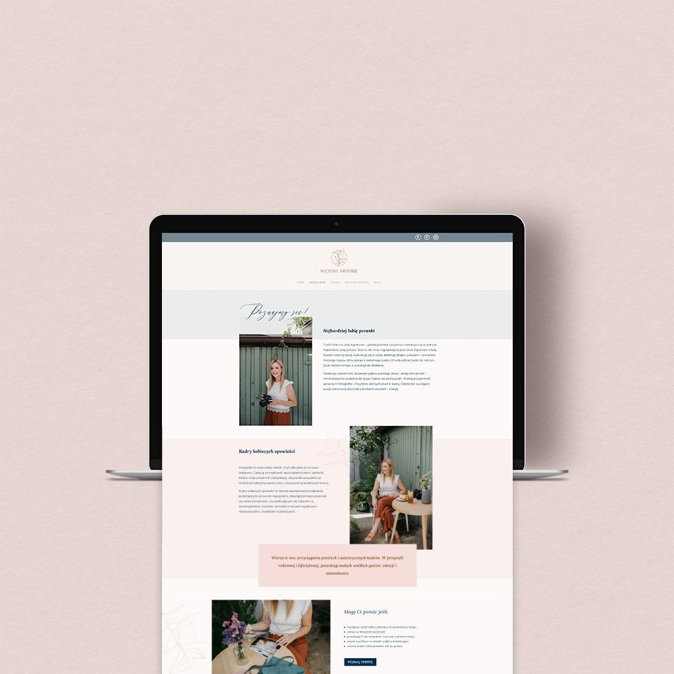 Strona internetowa iblog; web design; strona dla fotografa | Oferta Moyemu