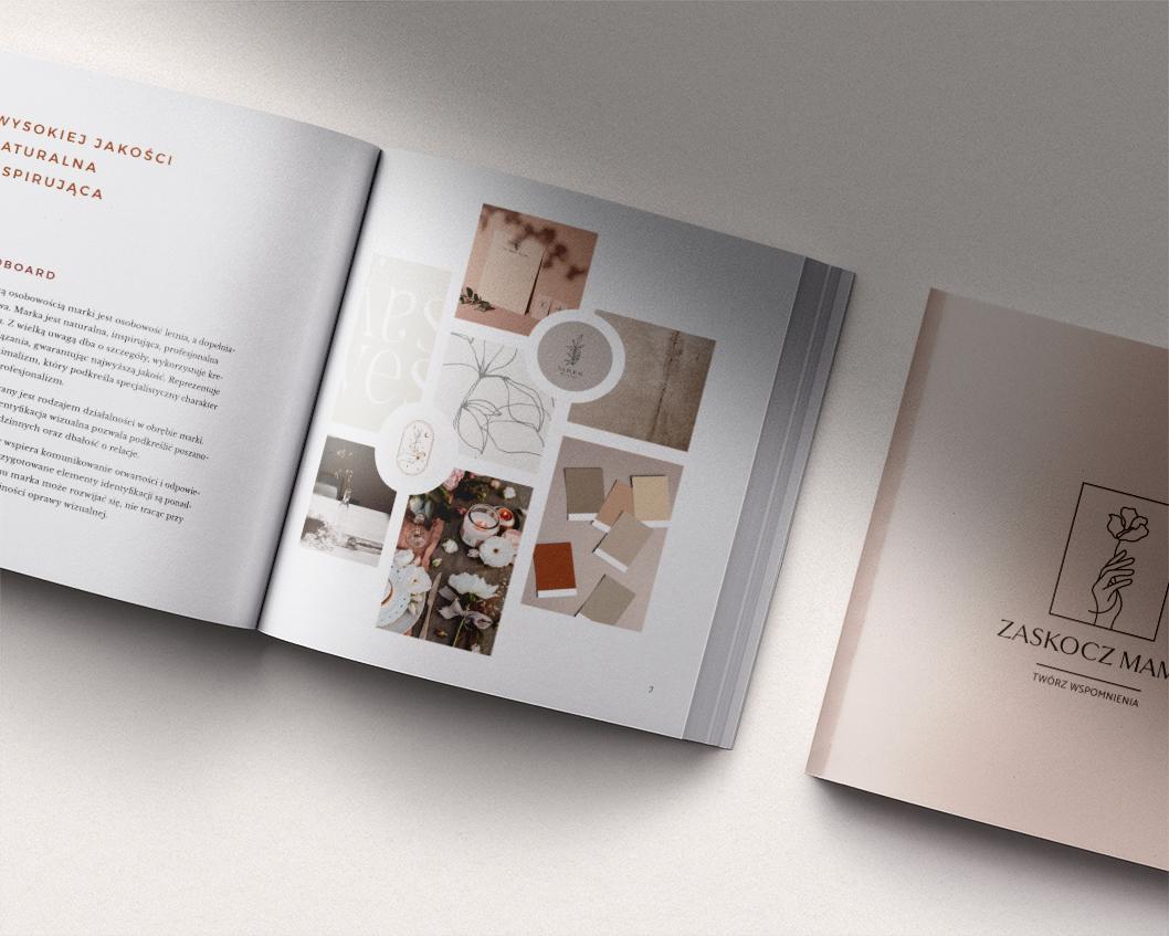 Zaskocz Mamę - identyfikacja wizualna, logo dla marki | Moyemu - studio kreatywne | Portfolio