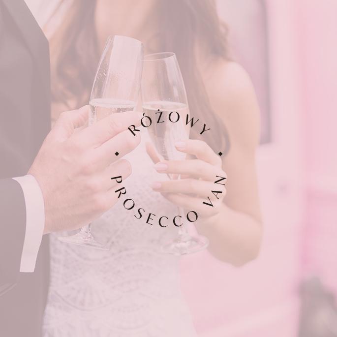 Różowy Prosecco Van - portfolio Moyemu | Identyfikacja wizualna, logo dla marki, strona internetowa - web design, grafiki Instagram