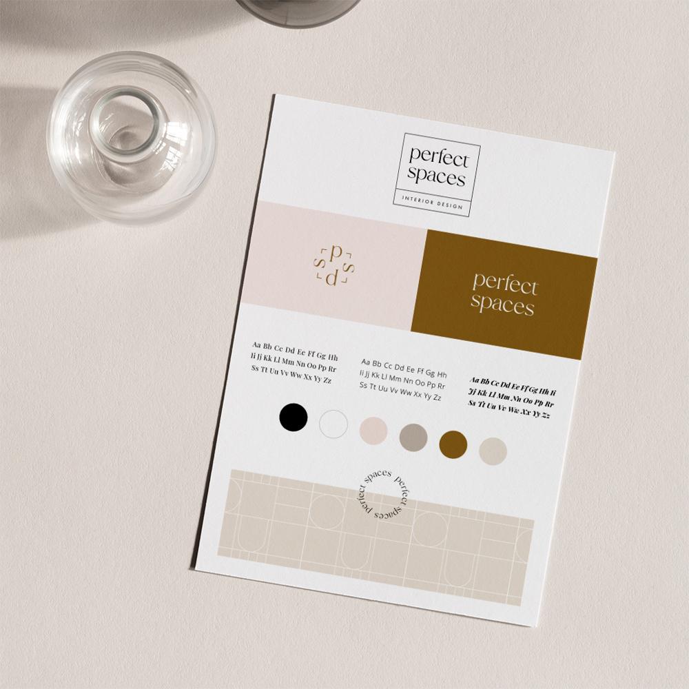 Oh! minimalist winter - gotowa identyfikacja wizualna dla marki zimowej | Moyemu